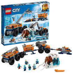 Lego City Arctic Mobile Exploration Base 60195 Building Kit 786 Piece for sale online Base Building, Lego Building, Legos, Scout Truck, Bike Hooks, Arctic Explorers, Exploration, Buy Lego, Cool Toys