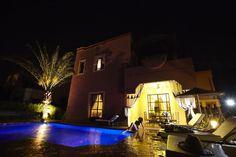 Villa Abalya nuit - SejourMaroc - Marrakech