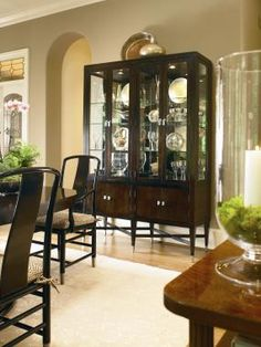 Century Furniture - Infinite Possibilities. Unlimited Attention.® Our new dining room china cabinet.