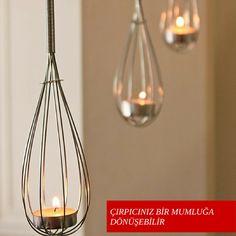 Oldukça güzel bir fikir değil mi? Eviniz için dekoratif şeyler oluşturarak geri dönüşüme katkı sağlayın.