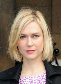 The Hottest Long Bob Hairstyles of the Year: A Cool Bob on Marie-Josee Croze