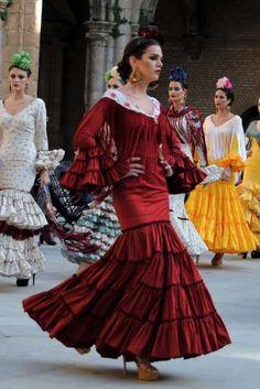 Traje de Flamenca - Angeles-Copete - Pasarela-Wappissima-2016