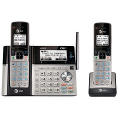 ATT TL96273 DECT 6.0 Connect-to-Cell(TM) 2-Handset Phone System with Dual Caller ID