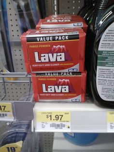 Lava Soap Just $.48 Each At Walmart!