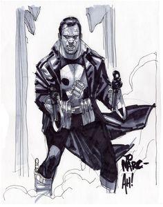 ✭ Punisher by Adam Hughes