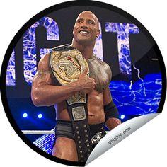Steffie Doll's WWE Champions Series: The Rock Sticker   GetGlue
