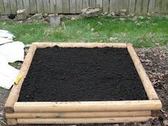 Fabulous tutorial for building raised garden beds.