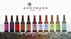 Austmann Brewery on Packaging of the World - Creative Package Design Gallery