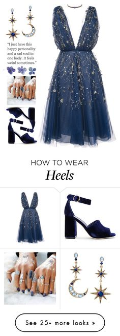 """""""Jane"""" by brie-the-pixie on Polyvore featuring Oscar de la Renta, Ettika, Betsey Johnson, Joie, NYFW, contestentry, afterparty and polyvorecontest"""