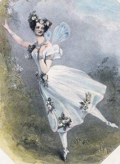 Marie Taglioni - Zéphyr et Flore