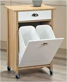ESMEYER, Ihr Ausstatter Für Betrieb Und Einrichtungen | Küchenwagen ECOLO  Auf Rollen Mit 2 Mülleimern