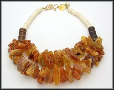 AMBER  Chunky Amber Nuggets  Old Handmade by sandrawebsterjewelry, $190.00 SOLD