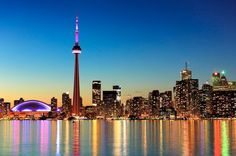 Majestic: The CN Tower by night