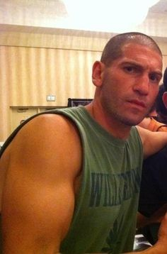 """Jon Bernthal...just discovered him in """"Grudge Match"""" with Stallone and Deniro.  Awesome!"""