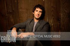 Josh Groban - Brave [Official Music Video], via YouTube.