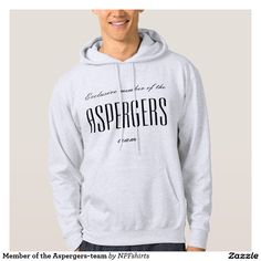 Member of the Aspergers-team Sweatshirt Med Luva