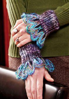 Berroco® Free Pattern | Manschette Wristers