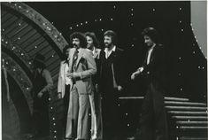 The Oak Ridge Boys accepting the Country Music Association's Vocal Group of the Year Award Photo by Jon Mir. Richard Sterban, The Oak Ridge Boys, Country Music Association, Group, Vintage