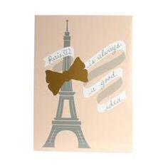 Bow & Eiffel Signature Message Board
