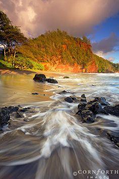 Koki Beach Sunrise, Hawaii