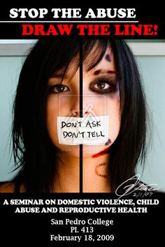 This image is a poster/flyer for a seminar on violence and abuse. It is good to know that there is support groups for people who are abused.