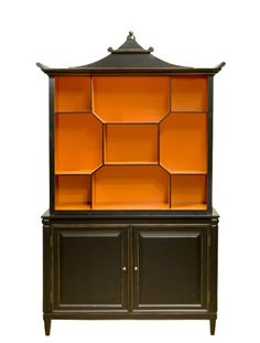 Pagoda style cabinet