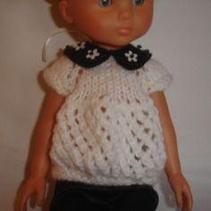 Tunique pour poupées 33 cm corolle les chéries, paola reina, little darling