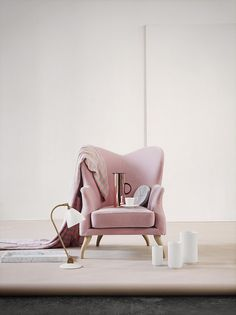 I just want to curl up in that chair with some coffee and a good book. -★-
