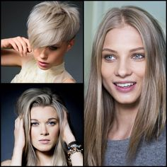 Hair Color Inspiration And Formulation: Silver Beige, oh how I wish I could pull this off