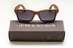 Ecological, handmade classic bamboo sunglesses | Robin Wood
