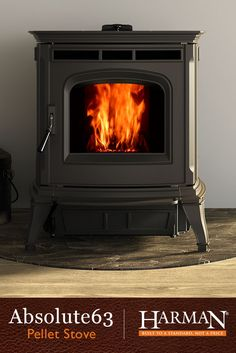 For those who seek sophistication in all areas of life, there is the pellet stove.