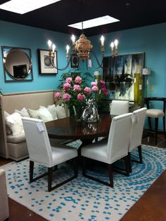 Dining arrangement and color