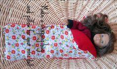 How to make a sleeping bag for American Girl Mini Dolls