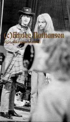 Gram Parsons and Leon Russell by Andee Nathanson. Her book Andee Eye is coming soon!!