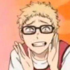 Haikyuu Tsukishima, Haikyuu Funny, Haikyuu Fanart, Daichi Sawamura, Kenma, Dark Fantasy, Anime Meme Face, Japon Illustration, Volleyball Anime
