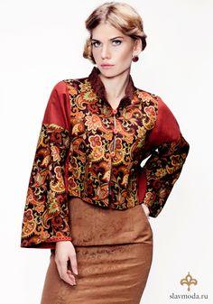 Русский костюм- russian mode