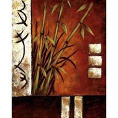 Posterazzi Russet Silhouette II Canvas Art - Krista Sewell (24 x 30)
