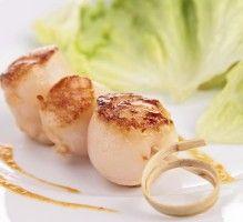 Recette - Noix de Saint-Jacques au vinaigre balsamique et à la crème - Proposée par 750 grammes