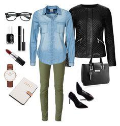 Easy Weekday #76 by bidlekerika on Polyvore featuring polyvore mode style Vero Moda M&S Collection Diesel Calvin Klein Daniel Wellington Chanel MAC Cosmetics Essie fashion clothing