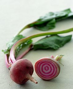 Chiogga beets - love the stripes...
