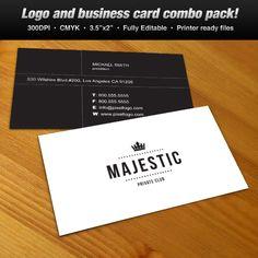 A logo business card set design suitable for fashion and clothing a logo business card set design suitable for jewelry and fashion themes logo reheart Images