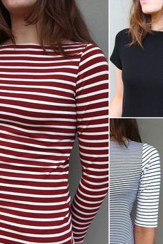 Brigitte Top -FREE Patterns - Tessuti Fabrics - Online Fabric Store