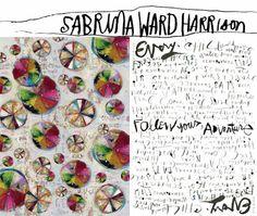 Handwriting by Sabrina Ward Harrison