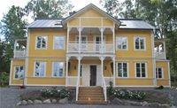 Vackert nybyggt hus