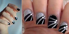 Συλλογή από υπέροχα νύχια σε ασημί και μαύρο!!! | EimaiOmorfi.gr