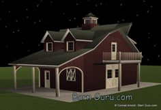 1000 Images About Horse Barns With Living Quarters On