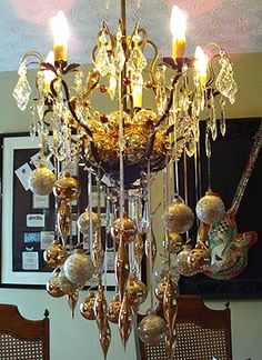 Holiday Chandelier