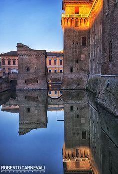 Reflected city (Ferrara, Italy)   © Roberto Carnevali