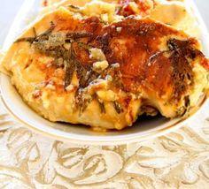 Jamie Oliver 30 minute meals - Stuffed Cypriot Chicken