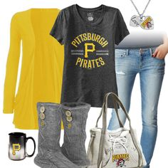 Pittsburgh Pirates Casual Tshirt Outfit